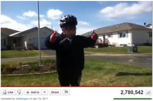 Screenshot of Youtube